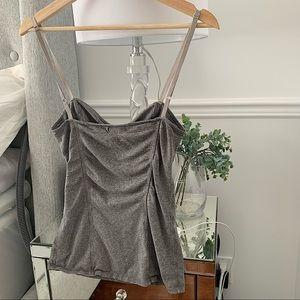 ARITZIA TALULA | Grey bustier cami size S